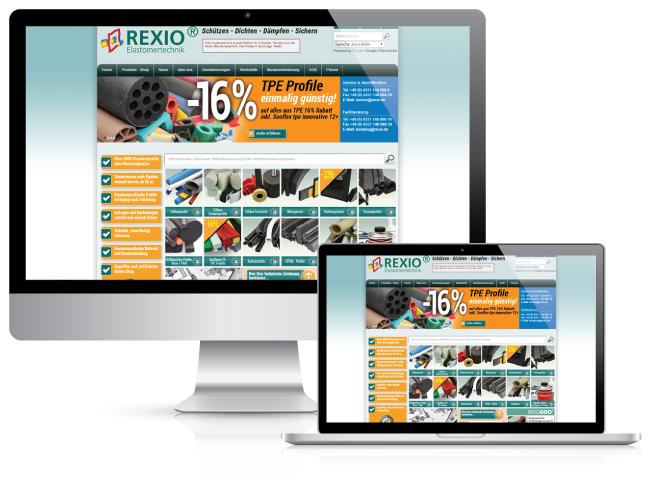 Bestweb Media GmbH :: Referenzen :: Rexio GmbH Seite