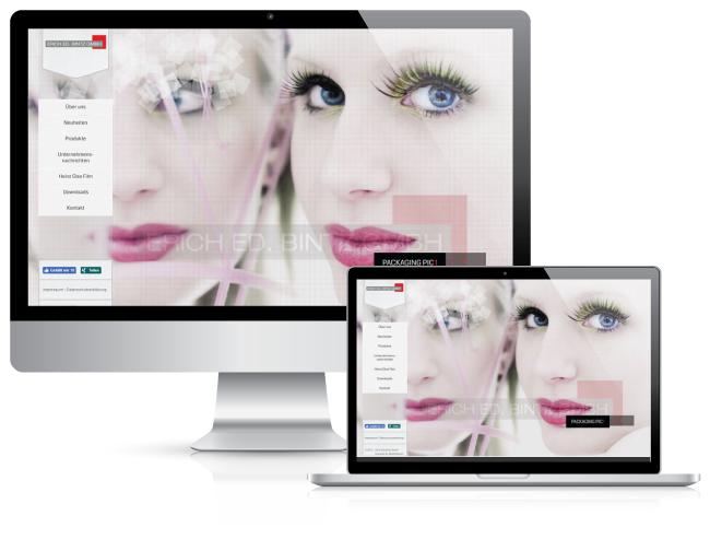 Bestweb Media GmbH :: Referenzen :: Bintz Seite