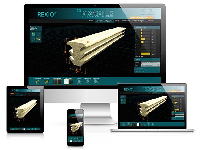 Bestweb Media GmbH :: Referenzen :: Rexio 3D GmbH Seite